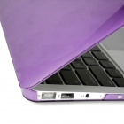 "3-in-1 Case Keyboard Plug for MACBOOK AIR 11.6"" - Purple"
