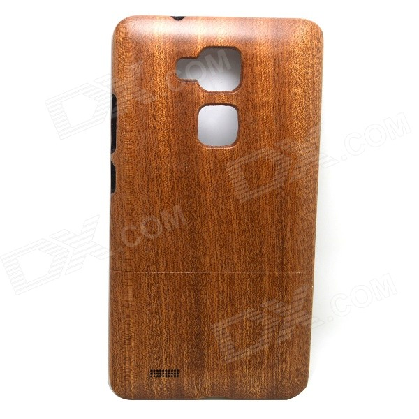 Retro Sapele Wood Back Cover Case for HUAWEI Ascend Mate 7 - Brown