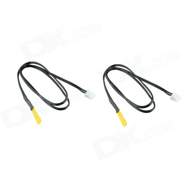 XGHF-T110 Thin film NTC 10K Thermistor Temperature Sensor - Black