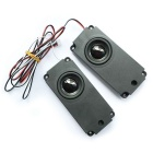 Jtron 8ohm 5W Speaker for LCD TV - Black (Pair)