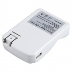 BTY C804U 4-Slot AA / AAA Battery Charger w/ USB - White (US Plugs)