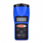 "CP-3008 1.8"" LCD Ultrasonic Laser Distance Measurement Meter Rangefinder - Black + Blue (1 x 9V)"
