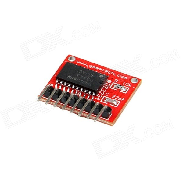 Geeetech RTC - DS3234 Breakout Real Time Clock Module - Red