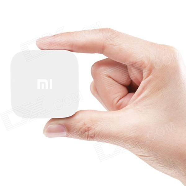 Xiaomi Android google TV player com ram de 1GB, 4GB rom, wi-fi, BT - branco