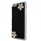 juvel encrusted mobiltelefon tilfelle for iPhone 6 Plus - svart