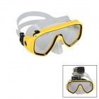 Kingma BMGP202 Diving Glasses for GoPro 4, Session 3, SJ4000 - Yellow