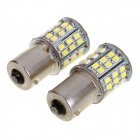 1156 6.4W LED Car Steering Lamp White 230lm 64-SMD 1206 (2PCS)