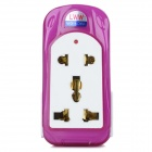 Travelling Multi-Function UK Plug Power Adapter - White (100~250V)