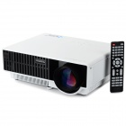 PRW310 LCD Projector Home Theater w/ LCD, HDMI, VGA - White + Black