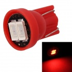 MZ T10 0.5W 80lm 2-SMD 5630 LED Car Red Light License Plate / Clearance / Instrument Lamp (12V)