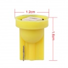 MZ T10 0.5W 80lm 2-SMD 5630 LED Yellow Light Car Lamp (12V)