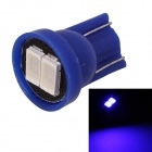 MZ T10 0.5W 80lm 2-SMD 5630 LED Blue Light Car License Plate / Clearance / Instrument Lamp (12V)
