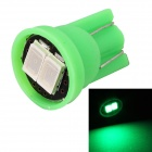 MZ T10 0.5W 80lm 2-SMD 5630 LED Green Light Car Lamp (12V)