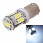 MZ BA9S 3W LED Car License Plate Light / Clearance Lamp White 6000K 360lm SMD 5630 - Silver (12V)