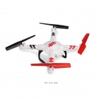 K686 2.4GHz 4-CH 6-Axis Gyro R/C Aircraft Toy w/ 2.0MP Camera - White