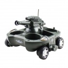 4-CH Water / Land R/C Amphibious Tank - Grass Green