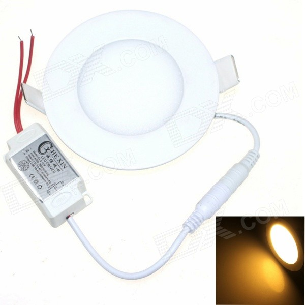 CXHEXIN 4W Ceiling Lamp Warm White Light 3000K 320lm 8-SMD 5630 LED - White