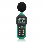 "MASTECH MS6702 2.5"" LCD Digital Sound Level Meter w/ RS232 - Green + Black"