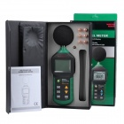 "MASTECH MS6702 2.5"" LCD Digital Sound Level Meter w/ RS232 - Green"