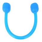 WJH168  Elastic Silicone Yoga Assistant Puller - Blue