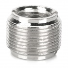 3/8 to 5/8 Zinc Alloy Adapter Nut for Microphone / Holder - Silver