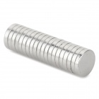 NdFeB N35 Round Magnets - Silver (8*1.5 mm / 20PCS)