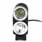 ultrafire K2G 1800lm 2-LED 3-Mode koel wit fiets licht koplamp
