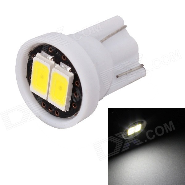 MZ T10 0.5W 6000K 80lm White LED Car License Plate / Clearance Lamp