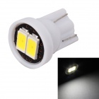 MZ T10 0.5W LED Car License Plate Light / Clearance Lamp White 6000K 80lm SMD 5630 - White (12V)