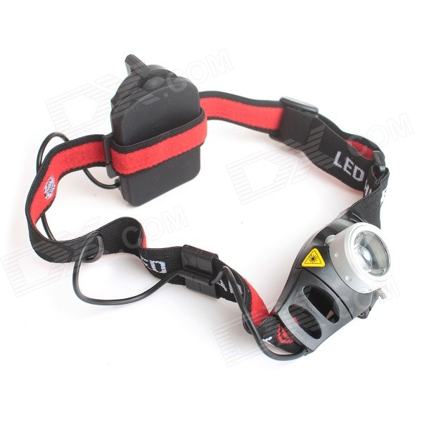 ME-21 140lm White Light 2-Mode Waterproof Zooming LED Headlamp