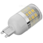 G9 4W LED Light Lamp Warm White 3000K 220lm SMD 5050 - White (AC 220V)