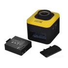 SJCAM M10 12.0 MP 1080P full HD cámara de vídeo digital deportiva - amarillo