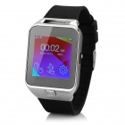 "ZGPAX S29 Smart GSM Watch Phone w/ Quad Band, 1.54"", 0.3MP Cam, BT, RM - Black + Silver"