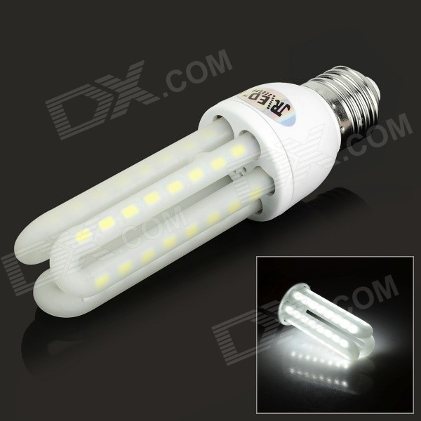 JRLED E27 12W LED Lamp White Light 6300K 1000lm SMD 5730 (AC 130~265V)