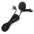 Clip Style Microphone for GoPro Hero4 / 3+ / Hero3 - Black (Cable-190cm)