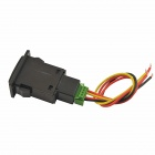 DIY DC 12V Car Fog light Switch for Toyota Camry - Black