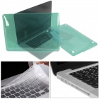 Mr.northjoe Crystal Hard Case + Keyboard Cover + Anti-dust Plug Set for RETINA MACBOOK PRO 15.4""