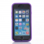 Shockproof Anti-dust TPU Back Case Cover Armor for IPHONE 6 - Purple