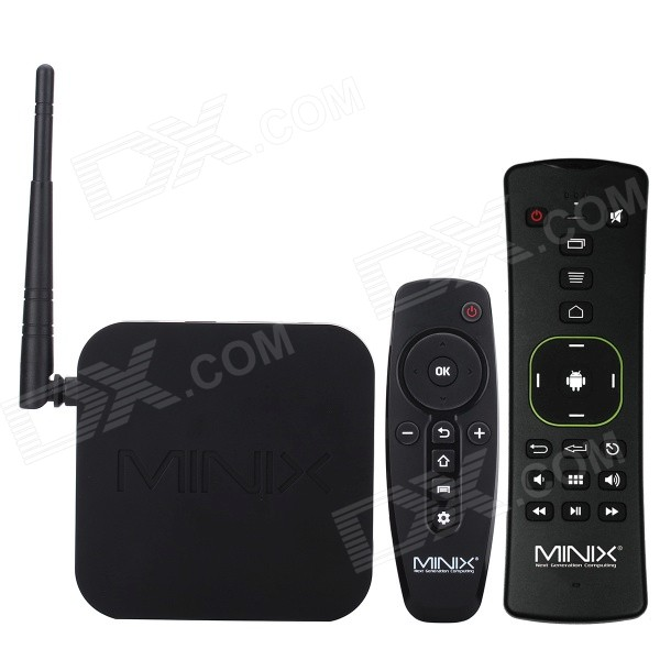 MINIX NEO Z64 + A2 lite Google Android 4.4.4 TV Player w / vzduch myš