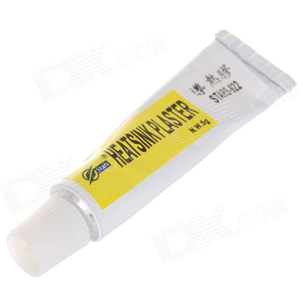 Adhesive Heatsink Plaster for PC Hard Parts - White (5g)