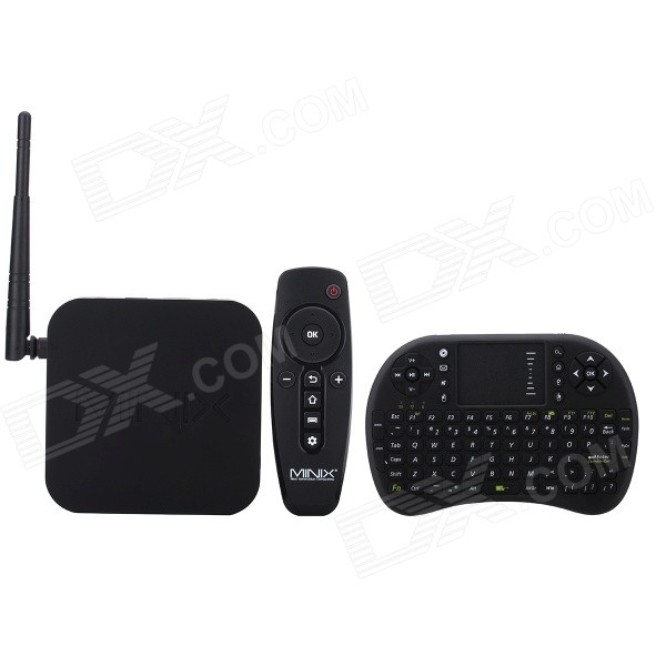 MINIX NEO Z64 + RF500 Android 4.4.4 Google TV Player w/ BT + Air Mouse