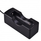 Chargeur de batterie SingFire USB Powered 5V Single-Slot 18650 - Noir