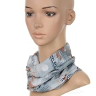 Stylish Multi Purpose Cotton Scarf for Men and Women - Old Newspaper