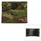 Universal Portable Foldable 7W 5V USB Solar Panel Charger - Camouflage