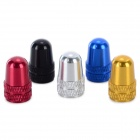 Aluminum Alloy Bike Bicycle Tire Valve Caps Set - Multicolor (5pcs)