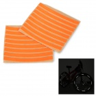 Salzmann Outdoor Cycling Bike Safety Reflective Stickers - Orange (16 PCS)