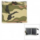 Universal Portable Foldable 10W 5V USB Solar Panel Charger - Camouflage
