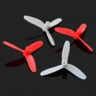 H1-31 erstatning 3-Blade Propeller Set for H1 & More-Rød + Hvit