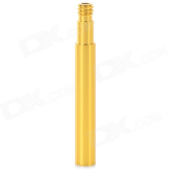 50mm Aluminum Wheel Tire Presta Valve Extender for Road Bike - Gold