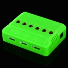 WLtoys X6 ABS 3.7V Li-polymer Battery Charger + USB Cable - Green
